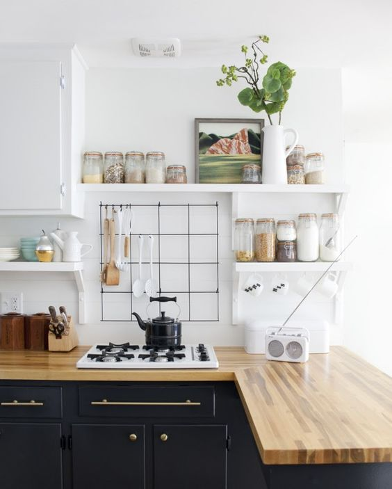 11 images qui nous font penser comment façonner nos comptoirs de cuisine - Wit & Delight