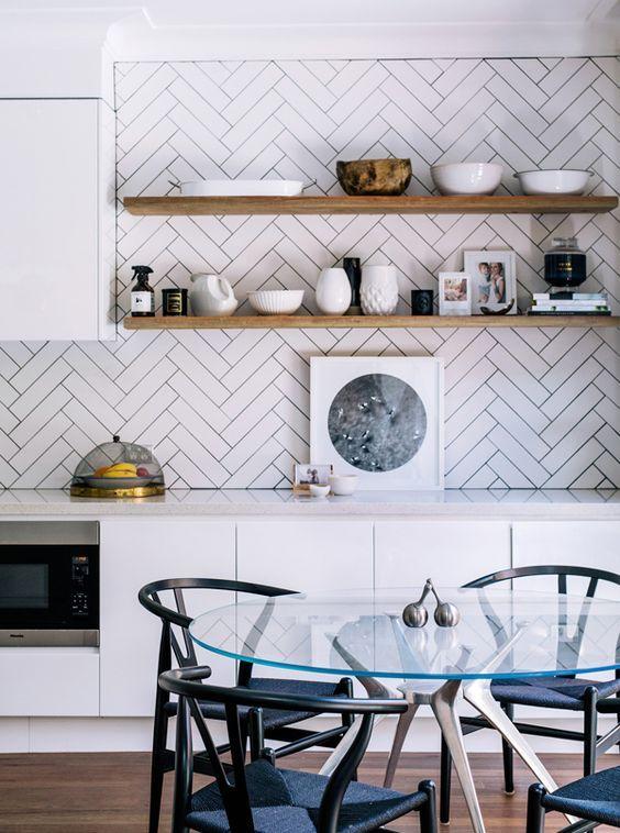 11 images qui nous font réfléchir comment façonnons nos comptoirs de cuisine - Wit & Delight