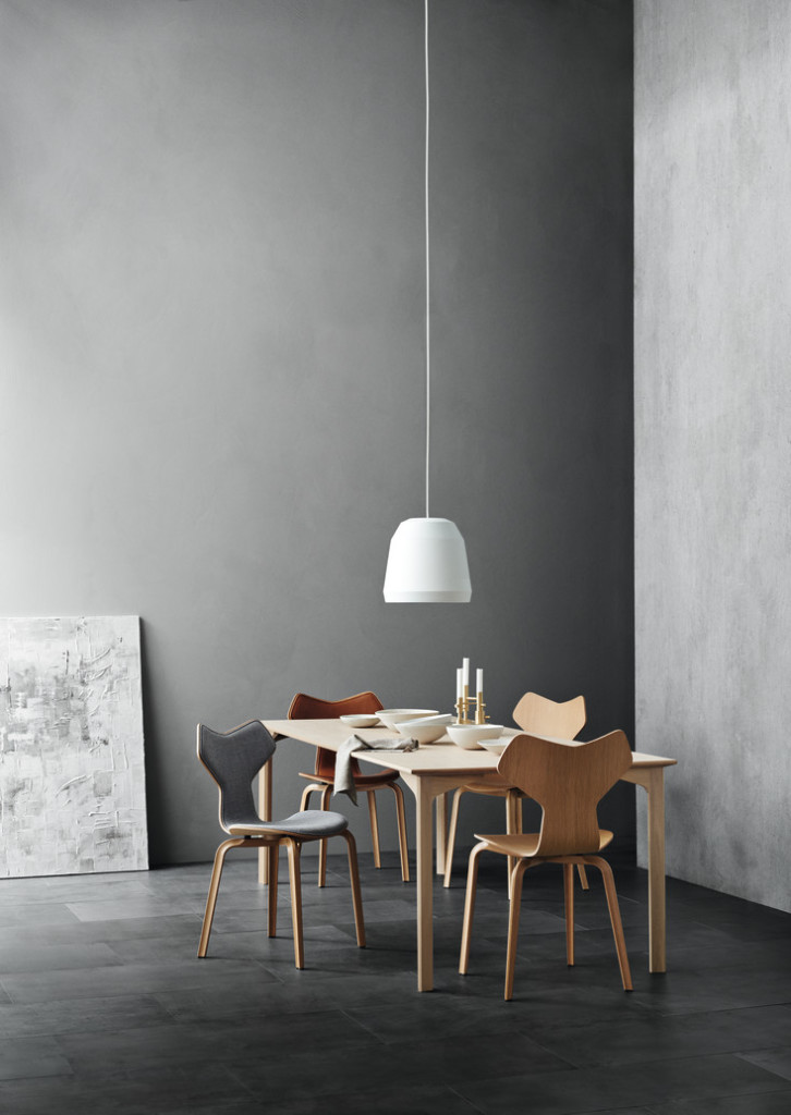 table du grand prix fritz hansen home staging d co design. Black Bedroom Furniture Sets. Home Design Ideas
