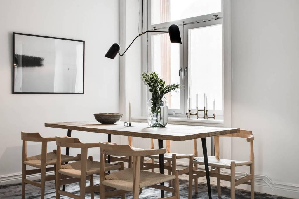 Cuisine et salle à manger aux couleurs naturelles - via Coco Lapine Design blog