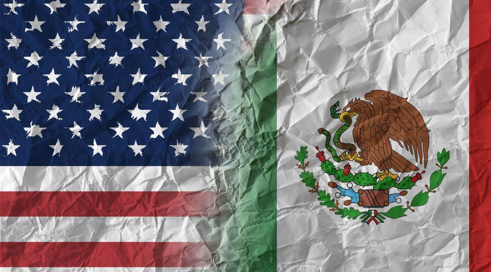 Mexique et États-Unis, image sous forme de tarif, 5-2019